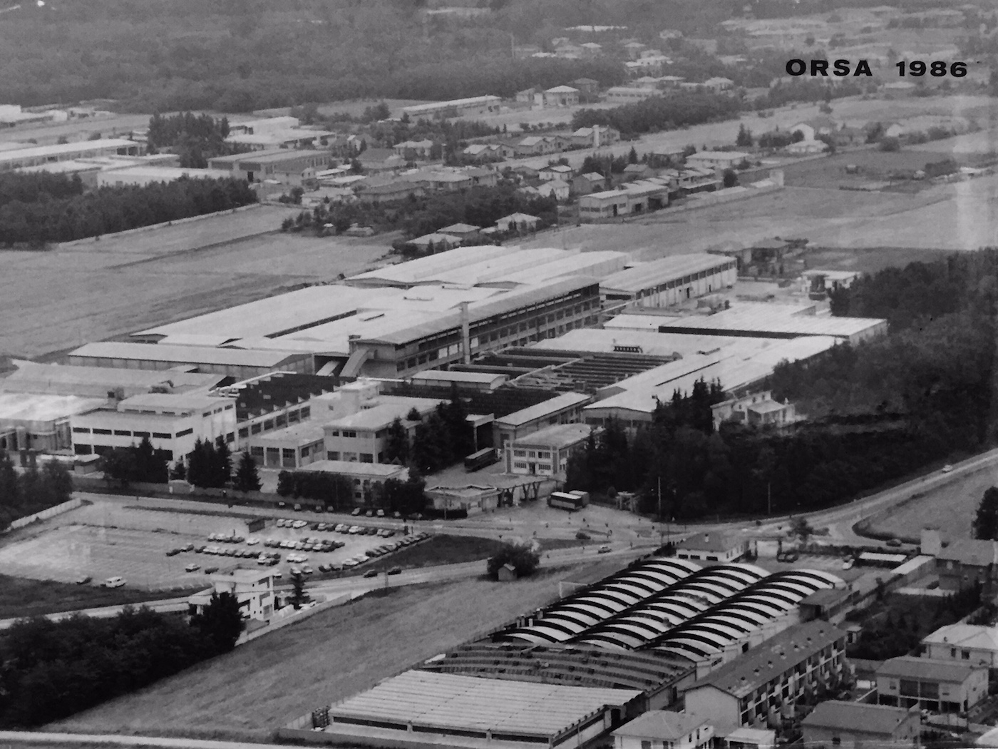 Orsa Headquarter in 1986